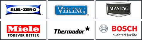 appliance repair services brands